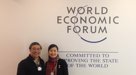 2016.1 Joined the World Economic Forum in Davos